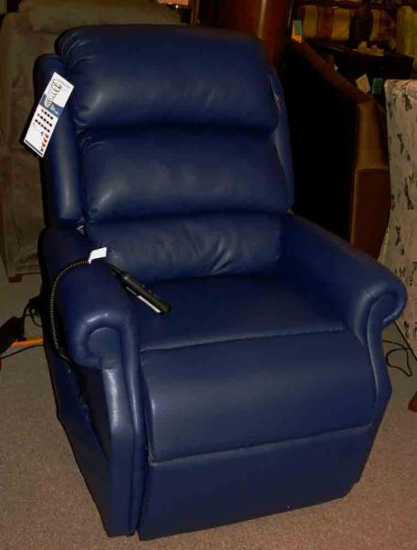 Navy Blue Leather Reclining Sofa Recliners Welcome To